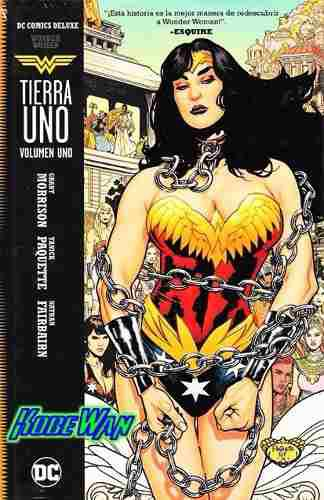 Dc Comics Wonder Woman Tierra Uno Deluxe Pasta Dura Maravill