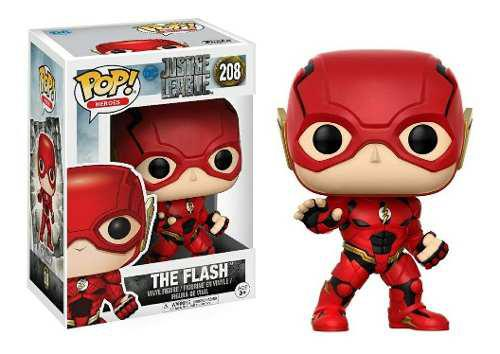 Funko Rodk Pop Flash Liga De Justicia Dc Justice League 208