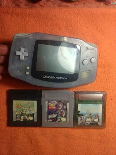 Game Boy Advance Con 3 Juegos