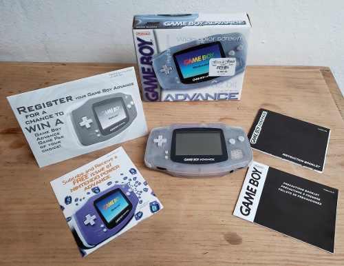 Game Boy Advance Primera Edición Completo Impecable