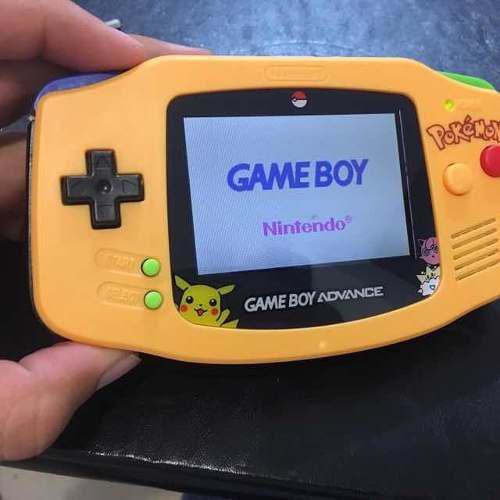 Game Boy Advance Retro Iluminado Edición Pokemon