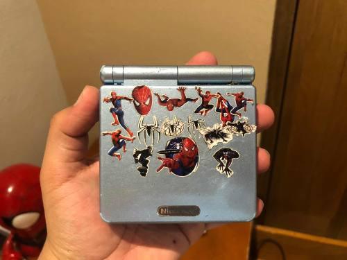 Game Boy Advance Sp Azul Con 369 In 1 Juegos