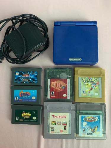 Game Boy Advance Sp Con Juegos (Leer La Descripción)