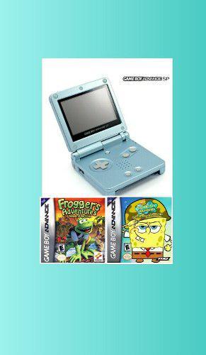 Game Boy Advance Sp Doble Brillo Mas Juegos