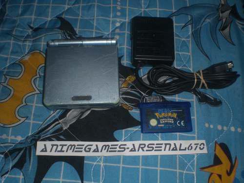 Game Boy Advance Sp Doble Luz Pokemon Zapphire Zafiro Gba Sp