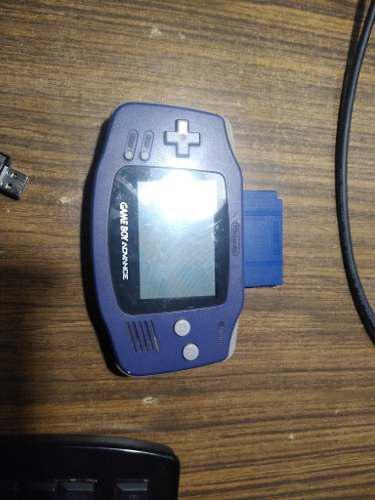 Gameboy Advance Con Pokémon Azul