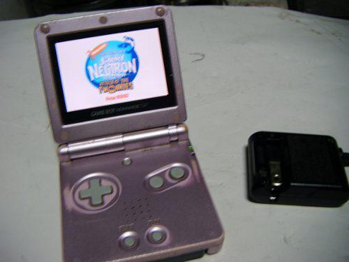 Gameboy Advance Sp Con Luz Y Juego De Regalo