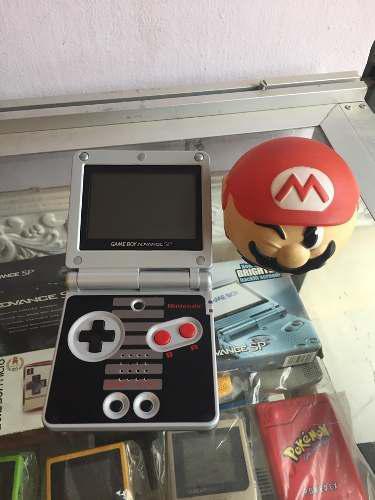 Gameboy Advance Sp Edicion Nintendo Nes Ags 001 Gba