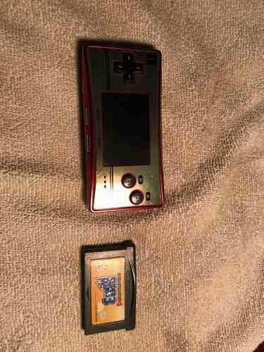 Gameboy Micro Versión Famicom
