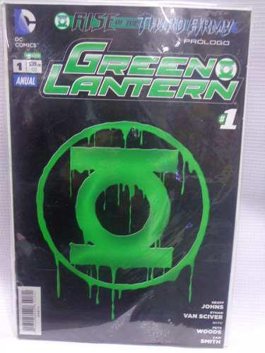 Green Lantern Vol.1 Anual Tercera Armada Dc Comic´s