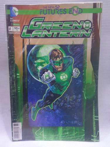 Green Lantern Vol.1 Futures End Dc Comic´s Televisa 2015
