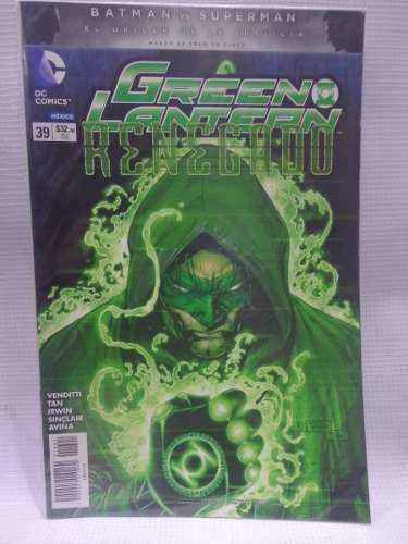 Green Lantern Vol.39 Dc Comic´s Televisa 2016