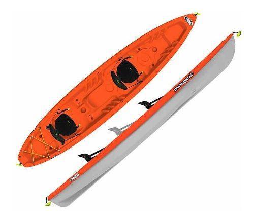 Kayak Apex 130t Para Tres Personas, Nuevos!!!incluye Remos