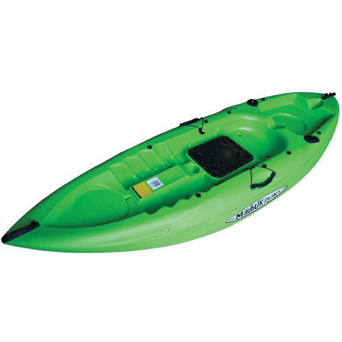 Kayak Malibu Mini X Modelo Estandar Para Pesca Color Verde
