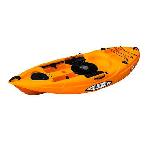 Kayak Malibu Stealth-9 Para Pesca Y Buceo Color Mango