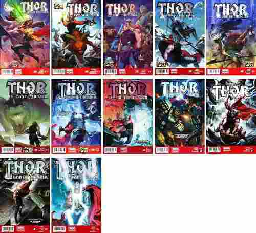 Marvel Comics Thor God 12 13 14 15 16 17 19 20 21 22 23 24