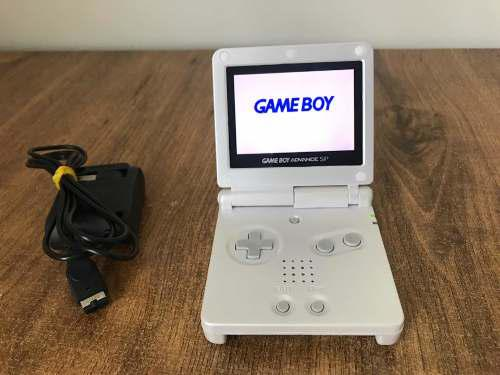 Nintendo Game Boy Advance Sp Blanco Como Nuevo