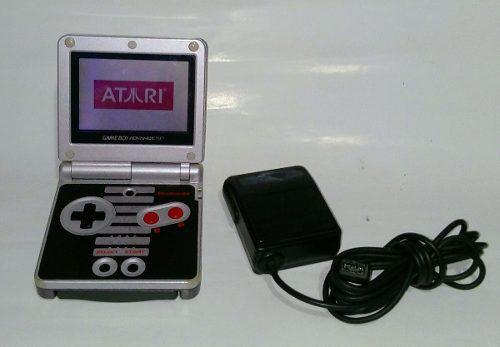 Nintendo Game Boy Advance Sp Clasic Nes Edition + Dragon Bal