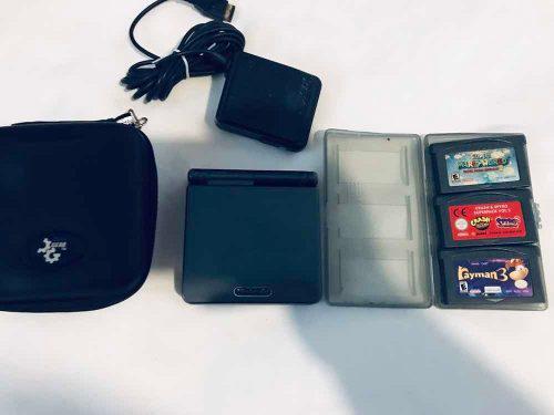 Nintendo Gameboy Advance Sp 101 Doble Brillo Usado Excelente