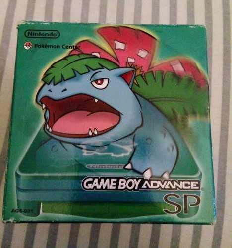 Nintendo Gameboy Advance Sp Bulbasaur Edition Raro Jp 9.5/10