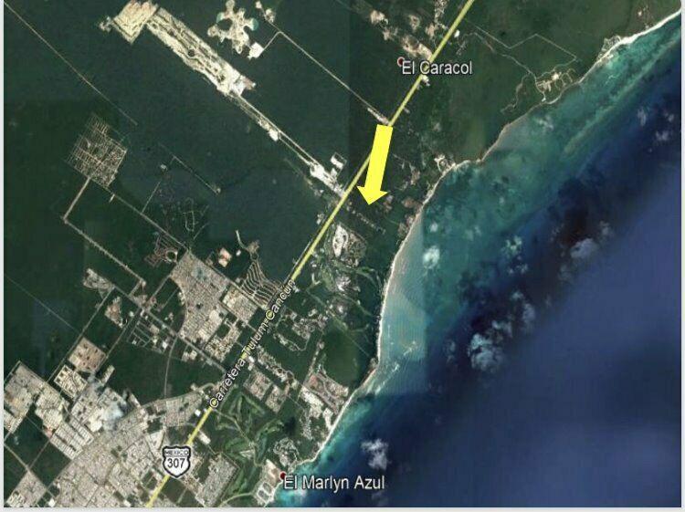 Terreno en venta en Zona Hotelera de Playa del Carmen,