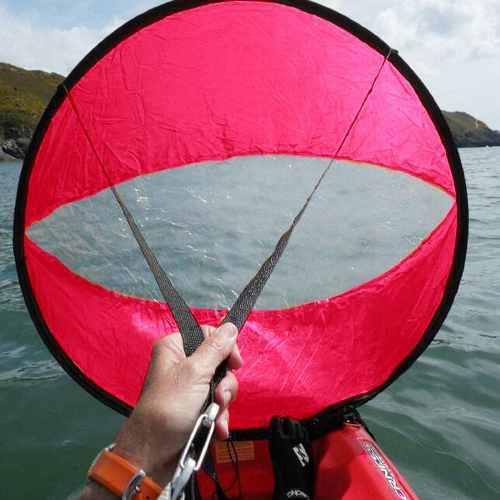 Vela Para Kayak, Accesorio De Navegación De 42 In, Rojo
