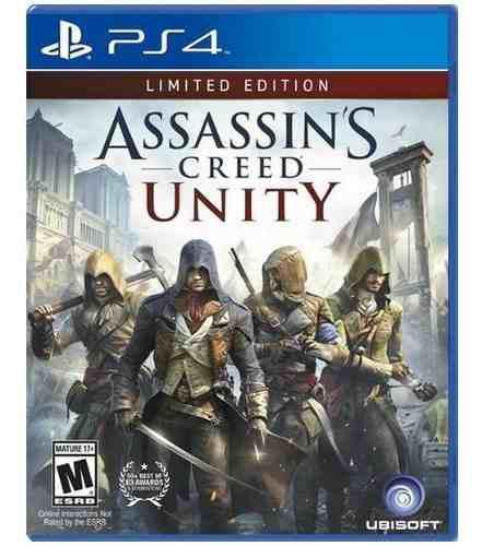 Assassins Creed Unity Limited Edition Ps4 Nuevo Juego
