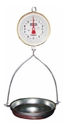 Bascula De Reloj Colgante De 10 Kg Con Charola+envio Gratis