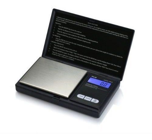 Bascula Digital De Bolsillo  Por.1g Negro Joyero Cocina