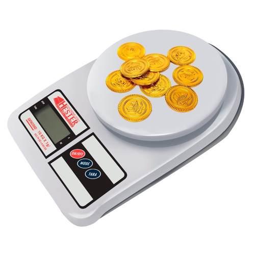 Bascula Digital Gramera De Cocina Y Joyería 7kg X 1gm Envio