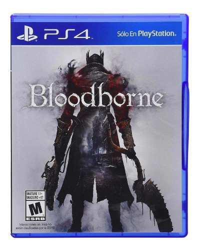 Bloodborne Ps4 Juego Físico Nuevo Y Sellado