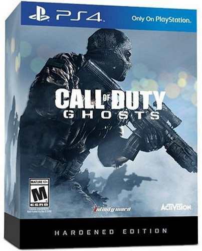 Call Of Duty Ghosts Hardened Edition Ps4 Nuevo Sellado Juego