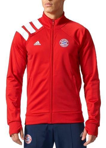 Chamarra Atletica Fc Bayern Munich Hombre adidas Full Bs0069