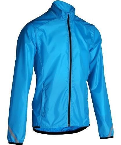 Chamarra Impermeable Lluvia Ciclismo 300 Azul Btwin Original