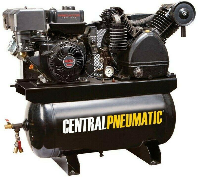 Compresor Aire A Gasolina 30 Gal Camion 420cc 180 Psi 14hp