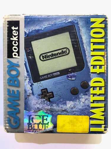 Consola Game Boy Pocket Ice Blue Edition Garantía Retromex