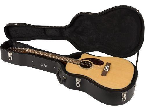 Guitarra Docerola Fender 12 Cuerdas Con Estuche Nuevo Modelo