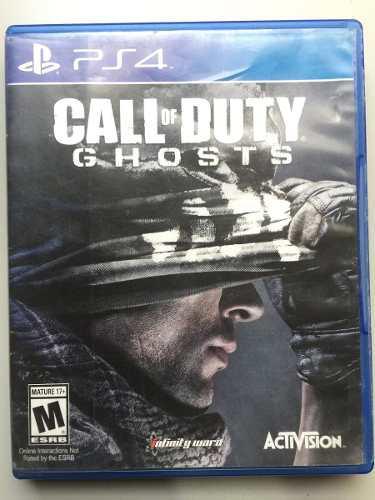 Juego Call Of Duty Ghost Ps4 100% Original Incluye El Pass