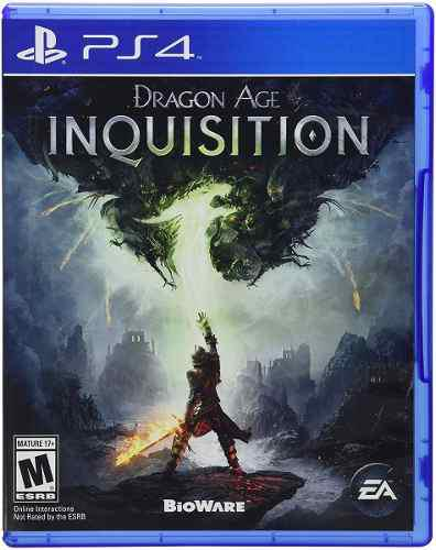 Juego Dragon Age Inquisition Ps4 Usado Original