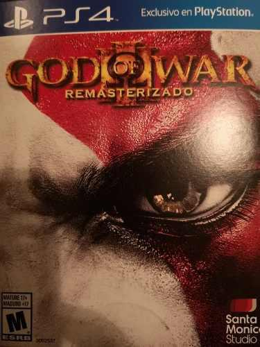 Juego God Of War 3 Ps4