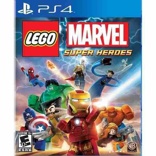 Juego Lego Marvel Super Heroes Ps4 Nuevo Original