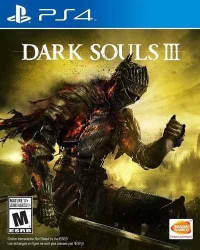 Juego Playstation 4 Dark Souls Iii Día 1 Edición Cdmx Df