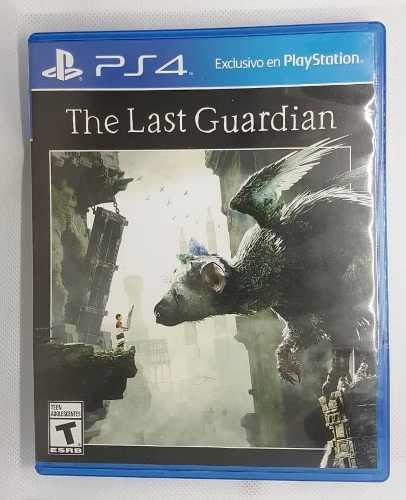 Juego The Last Guardian Ps4 En Caja En Excelente Estado