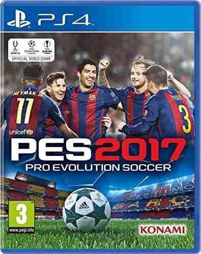 Juegos,pro Evolution Soccer 2017 (ps4)