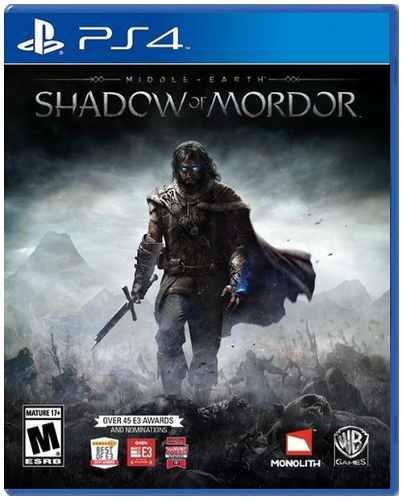 Middle Earth Shadow Of Mordor Ps4 Nuevo Y Sellado Juego