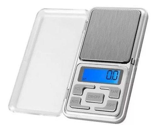 Mini Bascula Digital 0.01 Gr A 500 Y 200 Gr Joyera Gramara