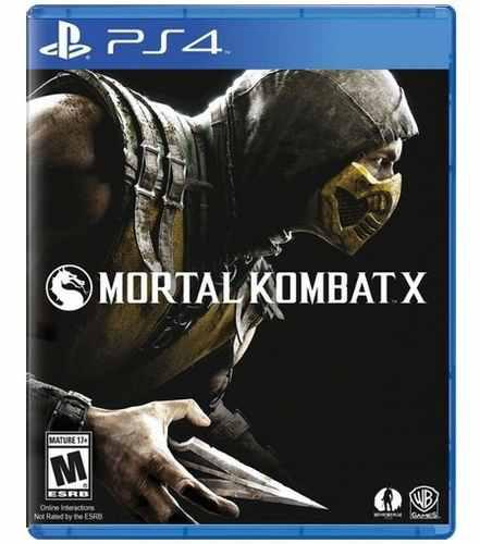 Mortal Kombat X Ps4 Playstation 4 Nuevo Y Sellado Juego