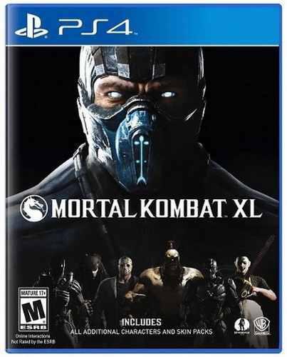 Mortal Kombat Xl Ps4 Playstation 4 Nuevo Y Sellado Juego