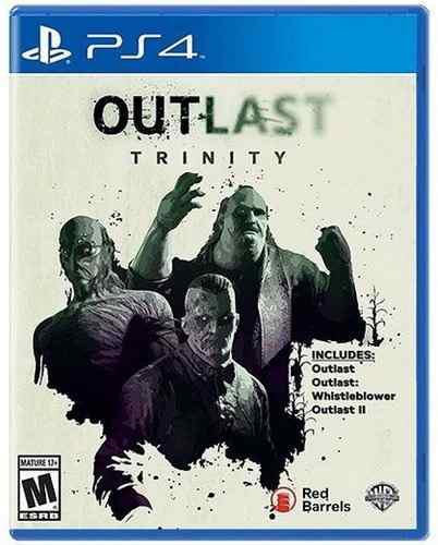 Outlast Trinity Ps4 Playstation 4 Nuevo Y Sellado Juego