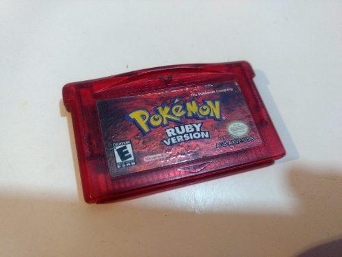Pokémon Ruby Original Game Boy Advance
